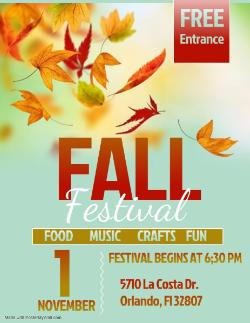 BPA of Orange 2019-2020 Fall Festival Date Change Announcement